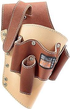 New Green Leather Heavy Duty HAMMER Holder Scaffolder Safety work Tool Belt DIY