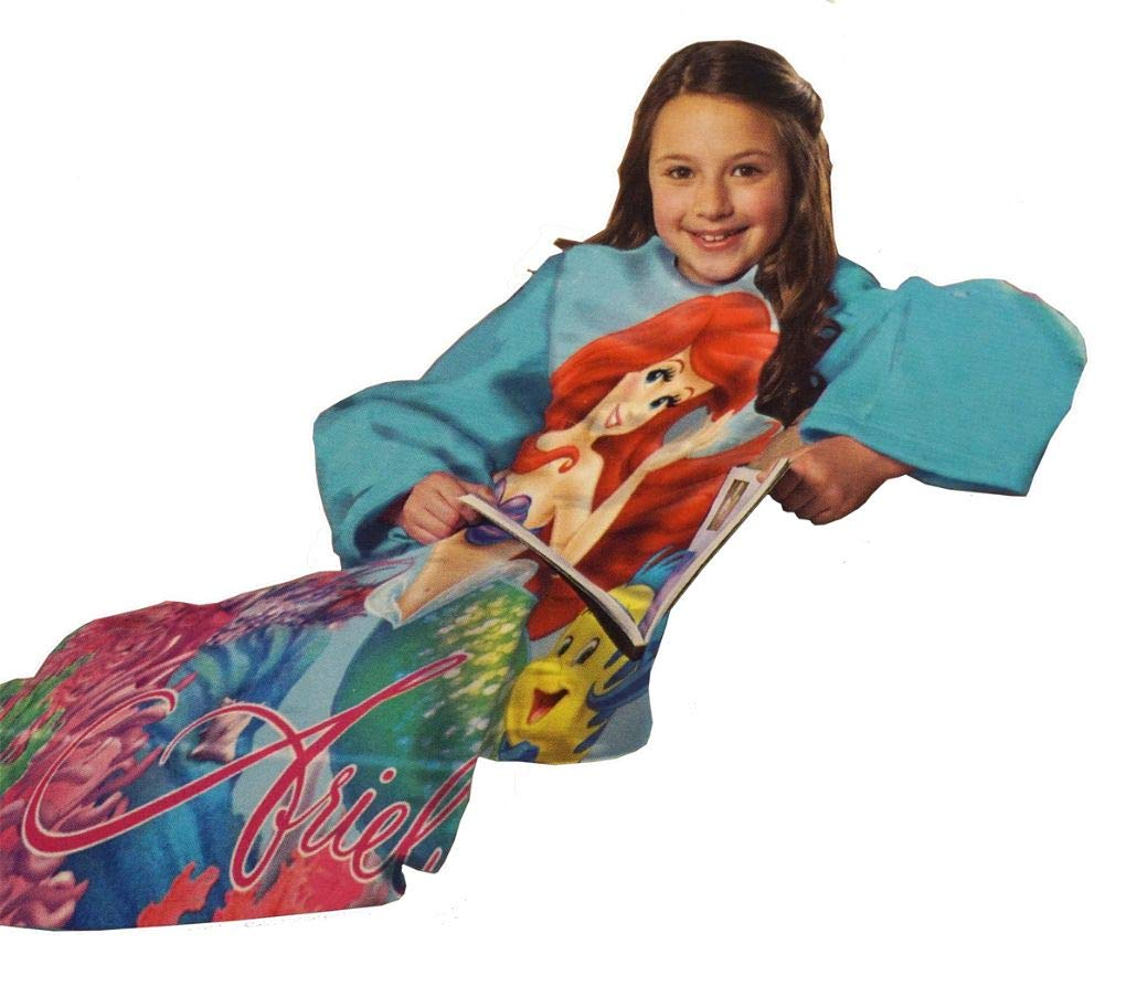 5Star-TD Children's The Little Mermaid Comfy Throw with Sleeves by Disney
