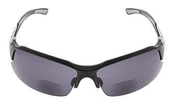 f7da629c6b7 Eyekepper TR90 Unbreakable Sports Polycarbonate Polarized Bifocal Sunglasses  Baseball Running Fishing Driving Golf Softball Hiking Half