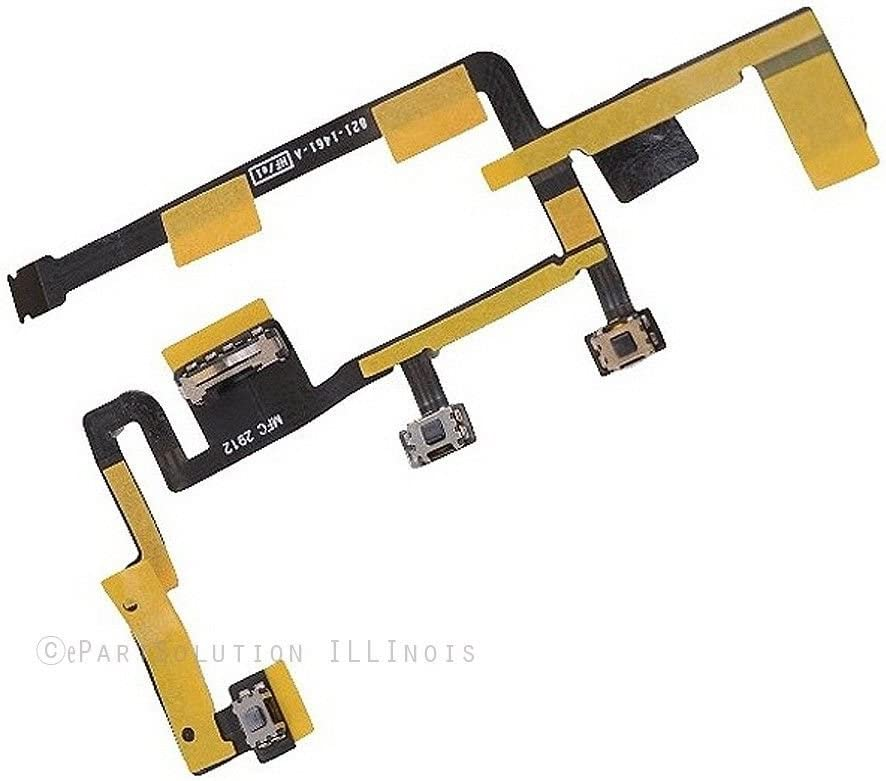 Power Button On//Off Volume Control Flex Cable for iPad 2 2nd Generation 2012 ver