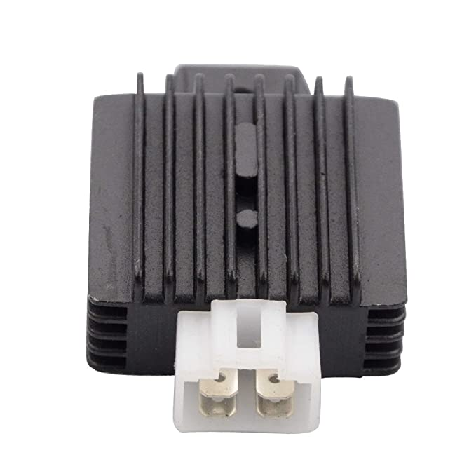 Amazon.com: GOOFIT 4 Pin Voltage Rectifier Regulator 12V for GY6 50cc 60cc 80cc 125cc 150cc Chinese Scooters Motors: Automotive