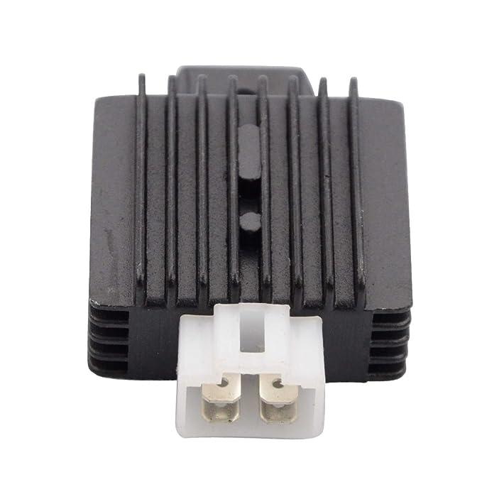 Amazon.com: GOOFIT 4 Pin Voltage Rectifier Regulator 12V for GY6 50cc 60cc 80cc 125cc 150cc Chinese Scooters Motors: Automotive