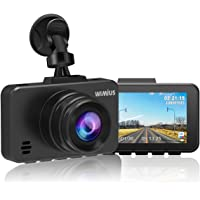 Dash Cam, WiMiUS Dash Camera for Cars, 1080P DVR Dashboard Recorder Full FHD Car Camera with 170 Wide Angle, Sony Sensor, WDR Infrared Night Vision, G-Sensor, Parking Monitor, Loop Recording