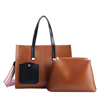ab662d899e4c Amazon.com: NEARTIME Women Casual Tote Bags, Fashion Open Pocket ...