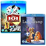 101 Dalmatians - Lady and the Tramp - Walt Disney 2 Movie Bundling Blu-ray
