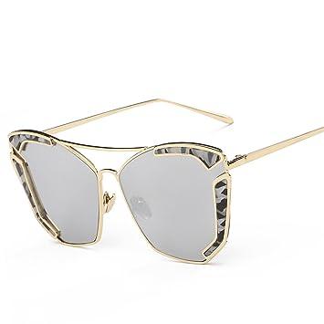 Die Neuen Trend Männer Und Frauen Sonnenbrille Europäische Und Amerikanische Straße Schießt Laufsteg Persönlichkeit Sonnenbrille,A5