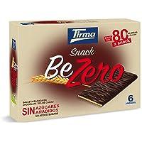 Tirma Snack Be-Zero Galleta Bañada En Chocolate 70% Cacao, Sin Azúcares Añadidos (6 Packs X 17,5 G) 105 g