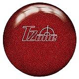 Brunswick Tzone Candy Apple Bowling Ball, 11 lb, Red