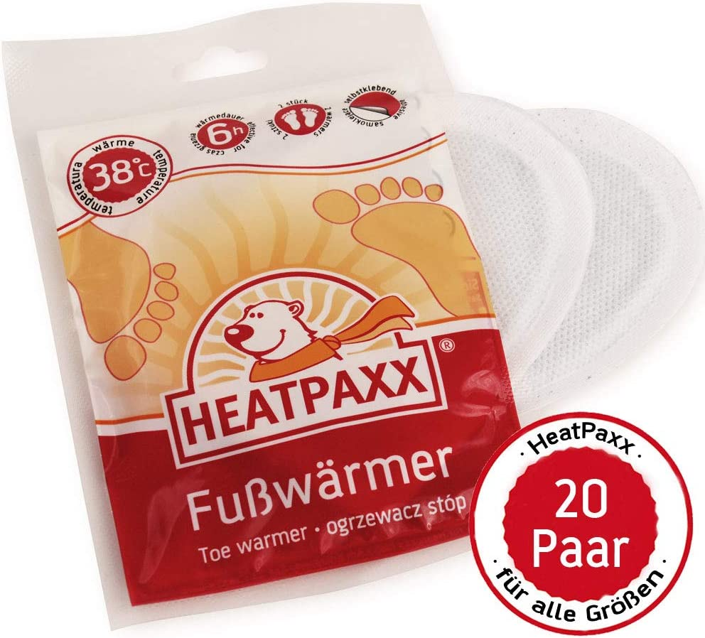 HX223 HeatPaxx Handw/ärmer Jumbopack 20 Paar