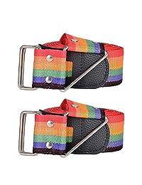 WESTONETEK Pack of 2 Cross Luggage Strap, Extra Long 4M 13FT Travel Suitcase Straps Packing Belt