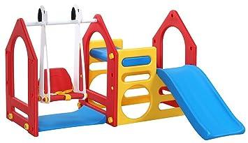 Littletom Casa De Juegos Para Ninos Y Ninas De 1 A 6 Anos Con