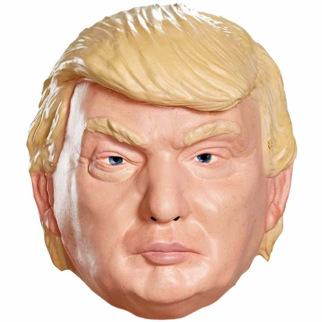 SMAYS Latex Donald Trump Mask Rubber Full Head Adult Face Costume