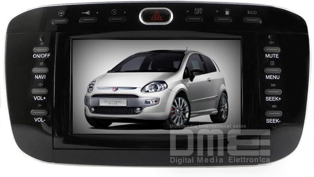 "Autoradio Fiat Punto GPS TV DVD USB 7"" HD DVB-T: Amazon.it"