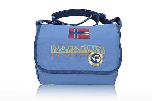 29a8a3bbdf Napapijri borsa small messenger north cape 5ANN3R25 blue marine: MainApps:  Amazon.it: Scarpe e borse