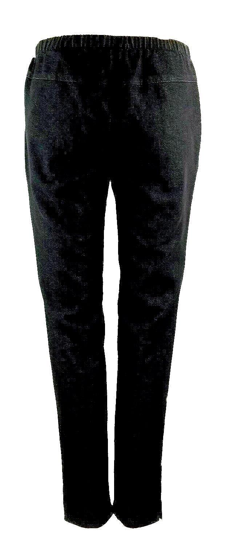 Brandtex Pantalon S Noir 702400283 Femmes Coton Décontracté yv08mNnOw