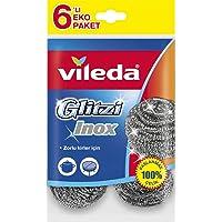 Vileda Inox Çelik, Paslanmaz Çelik, 6'lı Paket