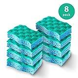 Vileda Scrunge Multi-Use Scrub Sponge (Pack of 8)