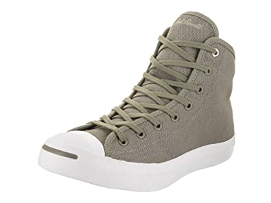 e17d42637719b1 Converse Unisex Jack Purcell Mid Dark Stucco Dark Stucco White Basketball  Shoe 7 Men