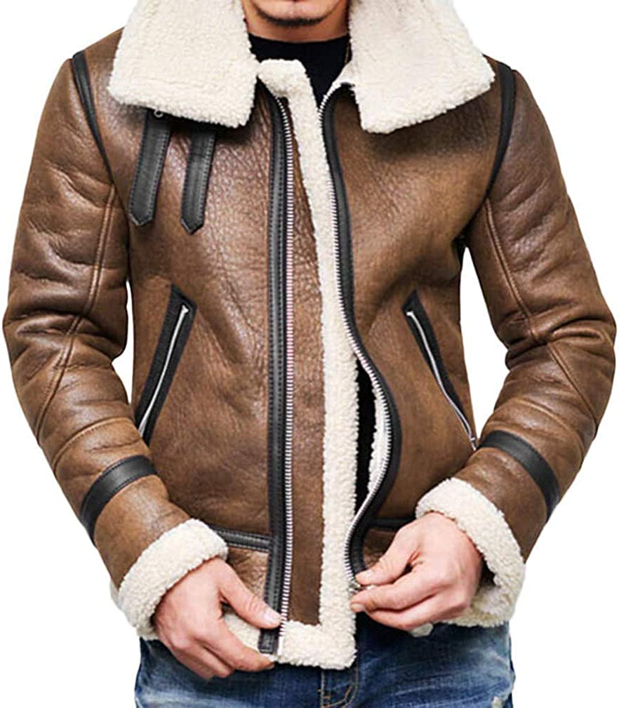 YUNY Mens Cotton Leisure Thickening Hoodie Zipper Trench Coat Jacket 6 M