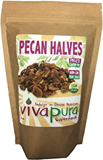 product image for Pecan Halves, Raw, Organic, 8 oz