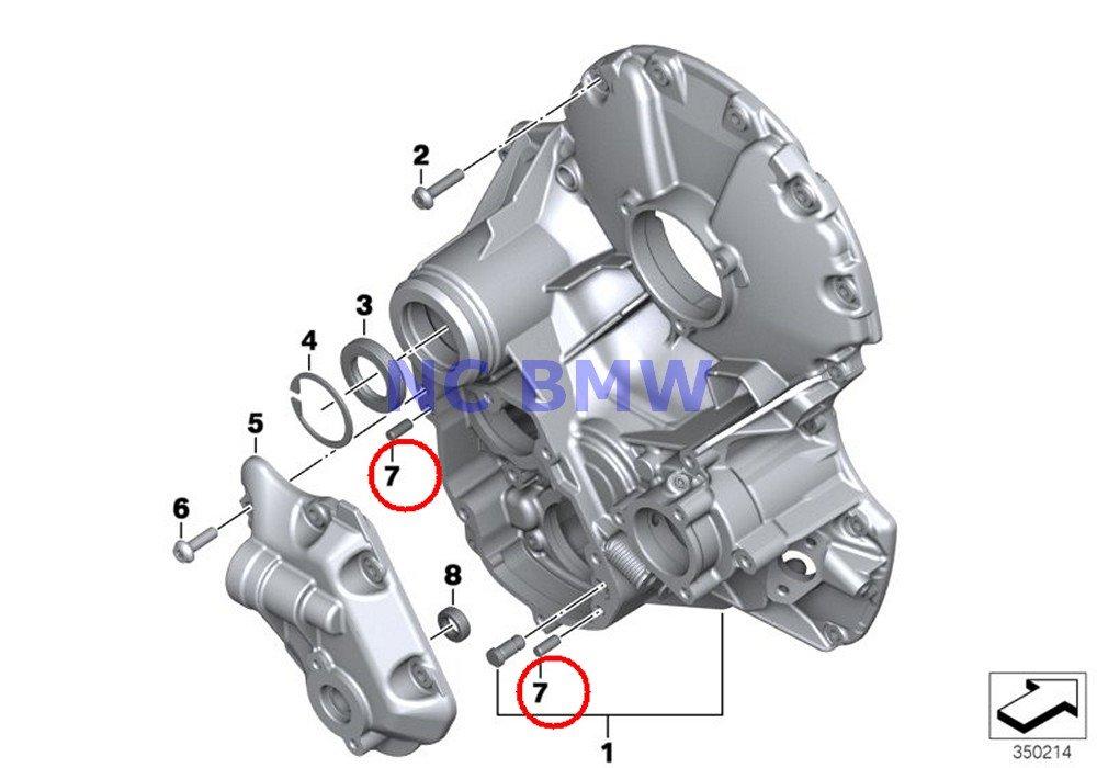 4 X BMW Genuine Motorcycle Dowel Pin 6M6X14 R1100S R nine T R1200GS R1200GS Adventure HP2 Enduro HP2 Megamoto R1200RT R900RT R1200R R1200ST HP2 Sport R1200S R1200GS R1200GS Adventure R1200RT R1150GS