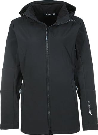 CMP Damen Softshelljacke Woman Jacket Zip Hood 39A5096CF