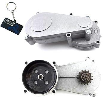 Stoneder T8F - Caja de engranajes con tambor de 14 dientes para motor de minimoto de