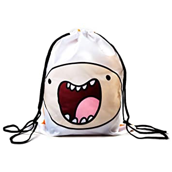 ADVENTURE TIME Finn and Jake Double Sided Design Drawstring Bag ...