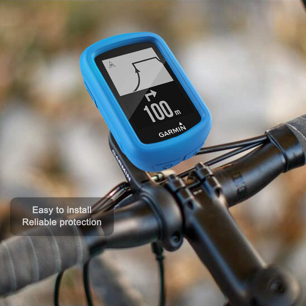 Silikon Schutzh/ülle Skin TUSITA h/ülle f/ür Garmin Edge 130 GPS Bike Computer Zubeh/ör