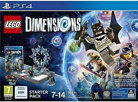 PS4 LEGO Dimensiones Pack Principiante: Amazon.es: Juguetes y juegos