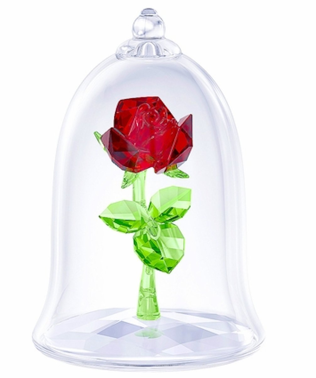Swarovski Crystal Enchanted Rose Figurine 5230478 by Swarovski