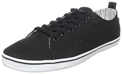 DVS Men's Rehab Casual Shoe,Black Canvas,12 ...