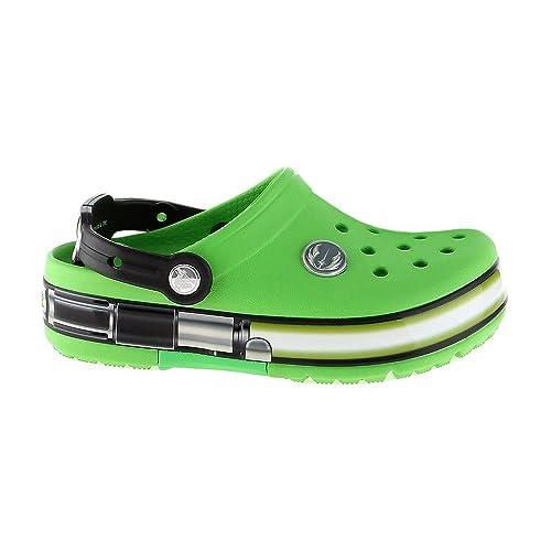 8e8f6389d30b7b Crocs Kids - Clogs CrocsLights Star Wars YODA - neon Green