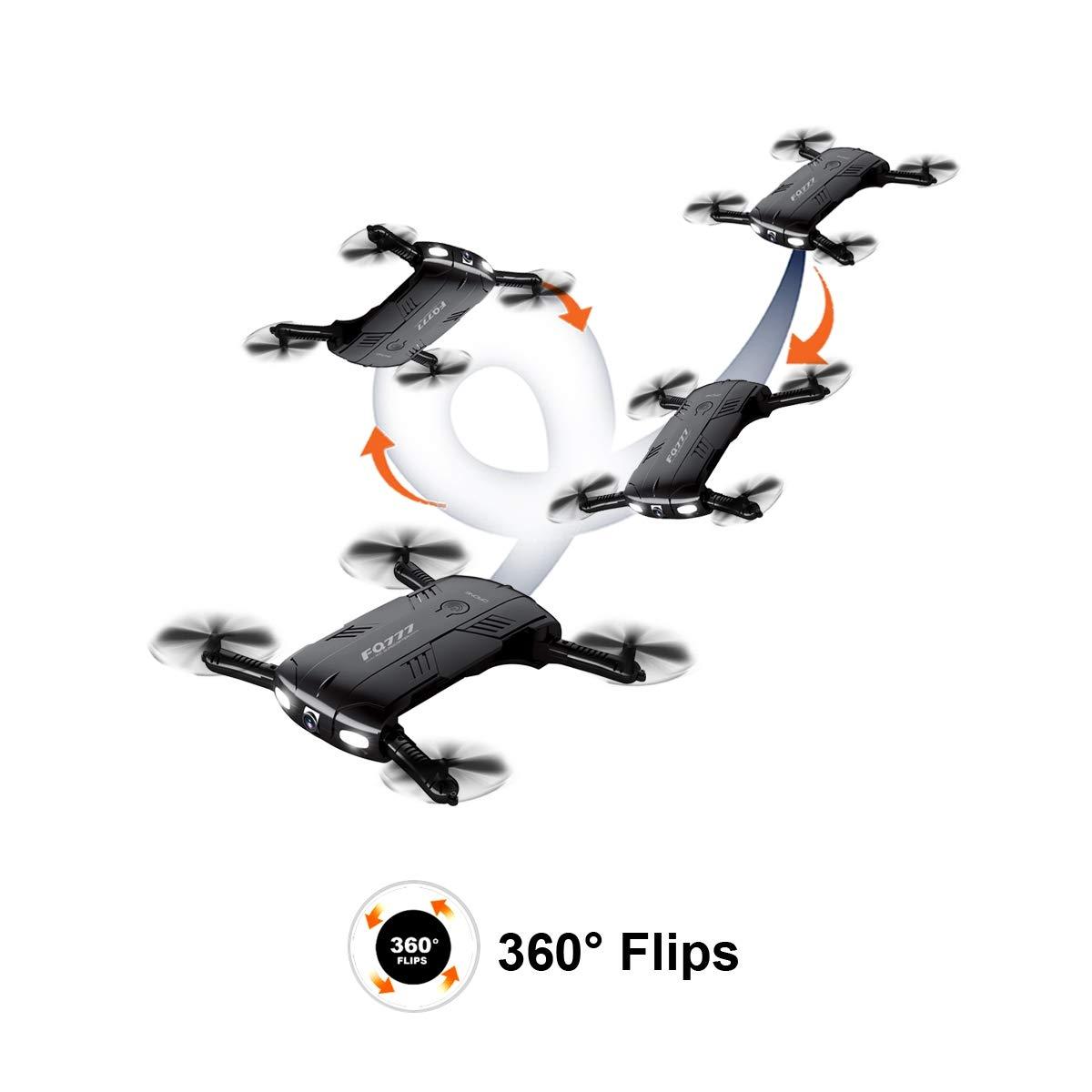 COL PETTI 2.4G 4CH RC RC RC Drohne mit HD Kamera WiFi FPV RC Faltbarer Selfie Drohne RTF RC Drone Quadrocopter Mini Drone 94b510