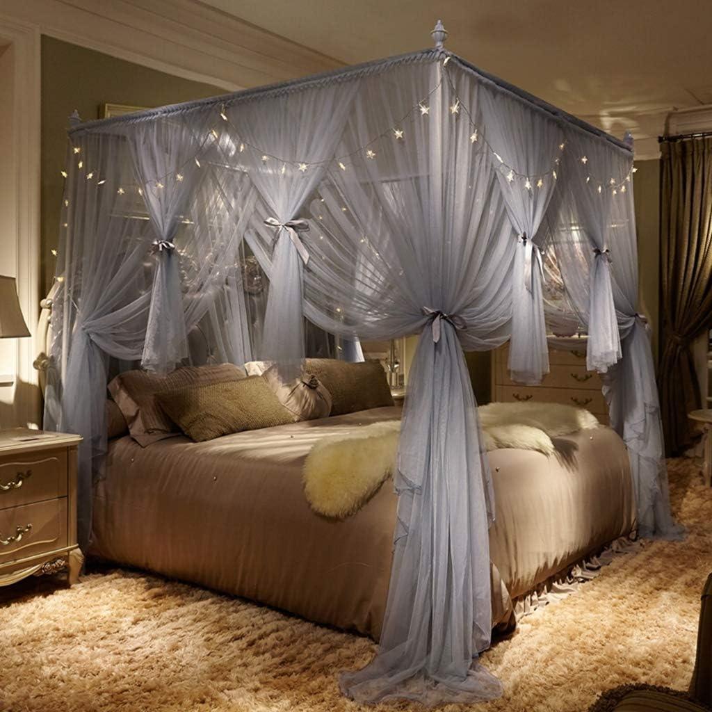 Negozi Tende Per Letto Baldacchino.Princess Simple Palace Bed Zanzariera 3 Aperture Elegante Letto