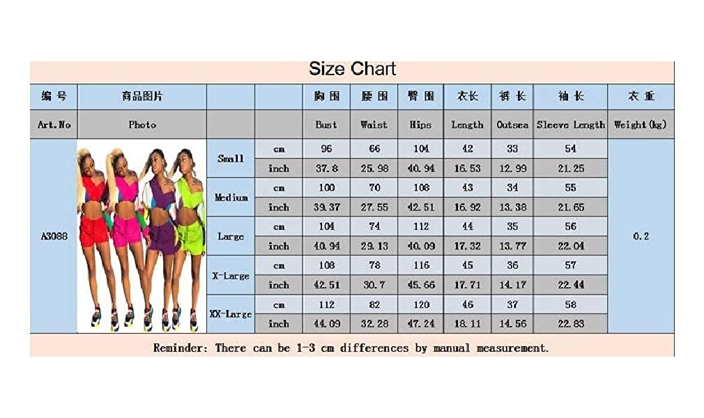 RDHOPE-Women Sweatsuit Stitching Color Panties Crop Top with Shorts