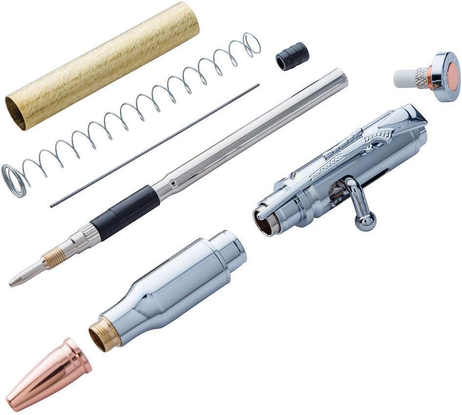 Amazon Com 30 Caliber Bolt Action Chrome Cartridge Pencil Kit Pkcp 8110 Home Improvement