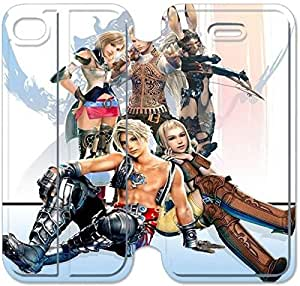 Leather Smart Cover With Flip Stand Phone Case iphone 5 5s-Final fantasy-45