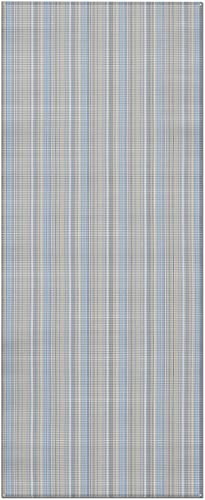 Prest-O-Fit 2-3000 Aero-Weave Breathable Outdoor Mat Seascape Blue 6 Ft. x 15 Ft.