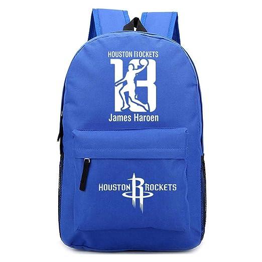 Backpack Mochila Escolar Baloncesto NBA Houston Rockets ...