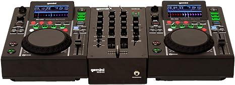 Prodotti Per DJ Gemini Controller MDJ-500 PERFORMANCE PACK ...