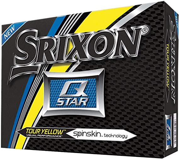 Srixon Q Star Golf Balls (One Dozen)