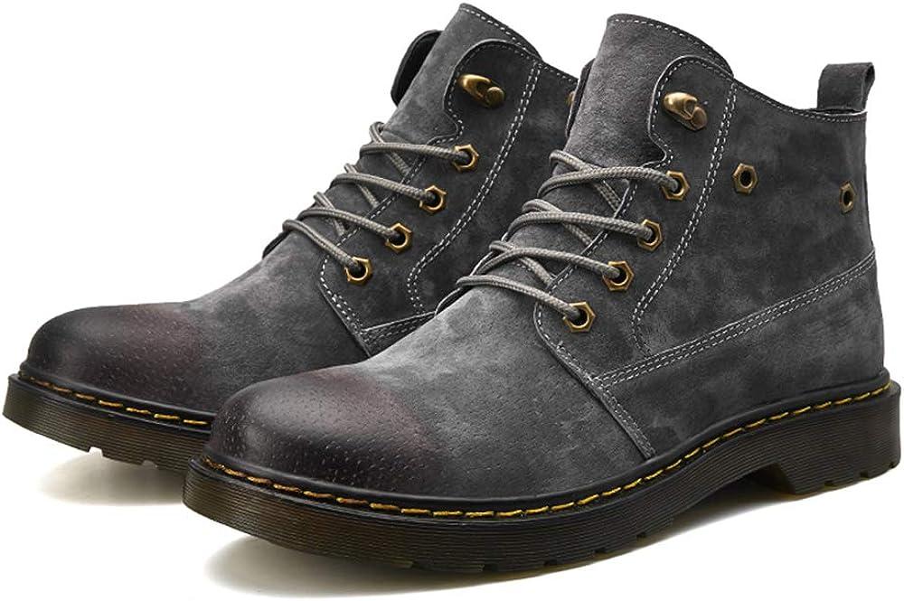 Zanpa Men Fashion Winter Shoes Lace Up Chukka Boots