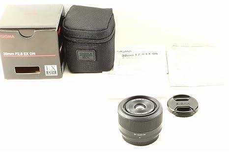 Sigma SIAQ036 - Objetivo para cámara réflex y EVIL, 30mm, f2.8 ...