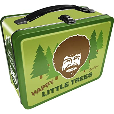 Aquarius Bob Ross Happy Tree Large Gen 2 Tin Storage Fun Box: Aquarius: Toys & Games