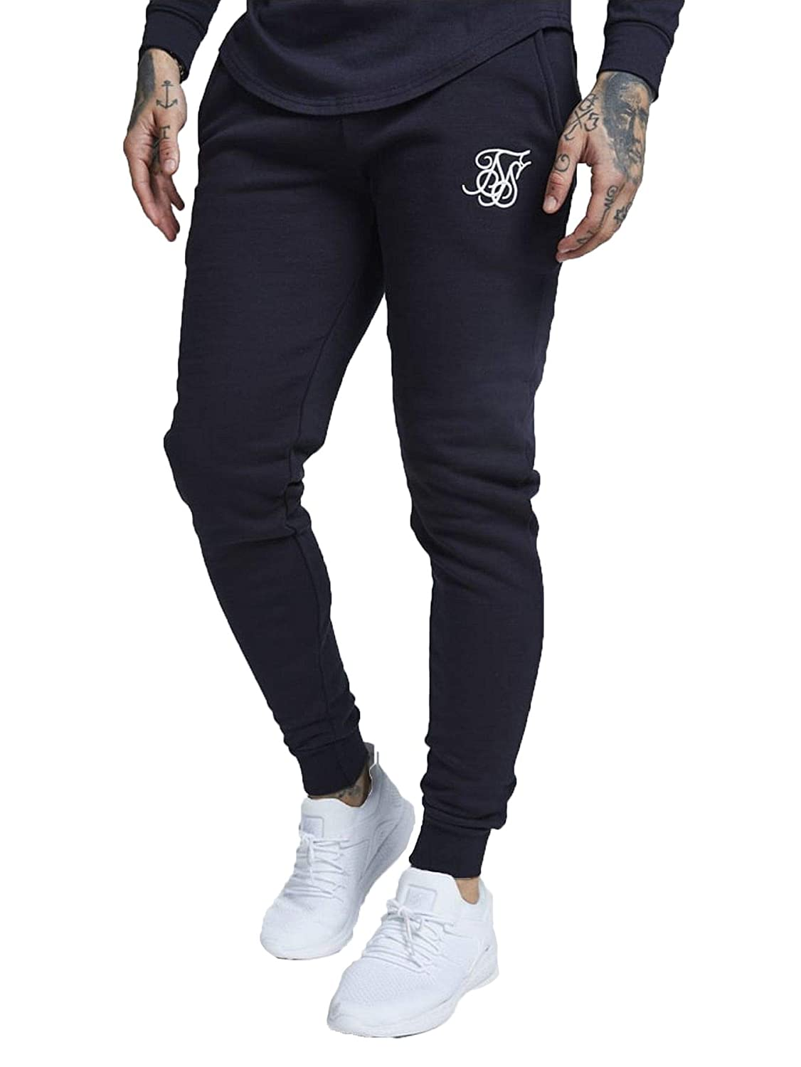 SIK Silk Muscle Fit Jogger Black SS-13230