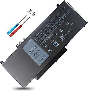 New 6MT4T Laptop Battery for Dell Latitude 14 5470 E5470 Latitude 15 5570 E5570 7V69Y TXF9M 79VRK 07V69Y Notebook PC Battery-7.6V 62WH