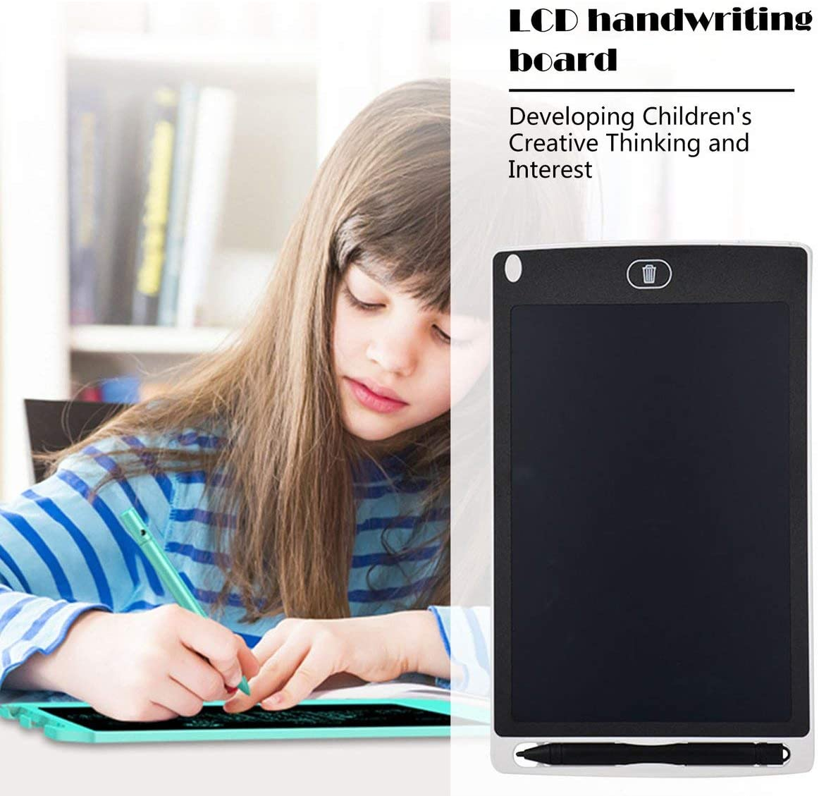 8.5inches Eye Protection Electronic Drawing Pad LCD Screen Writing Tablet Digital Graphic Drawing Tablets