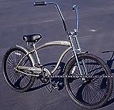 """Micargi Rover GT 1-speed for men (Matte Grey), 26"""" Beach Cruiser Bike Schwinn Nirve Firmstrong Style"""