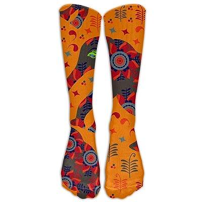 50adfa797fe GFDIK NEW Design Race Elephant 6 Socks Stockings Tide Girls High Tube Socks  Street Sports Socks